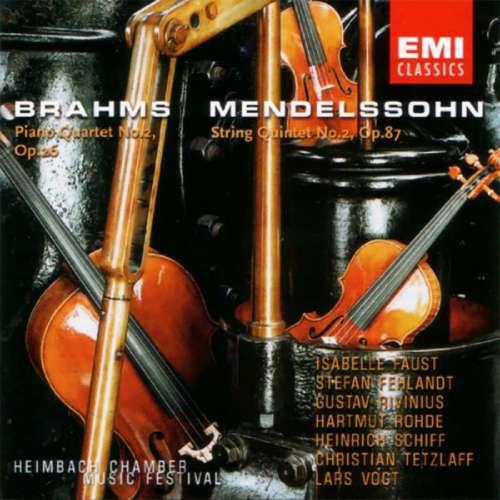 CD Brahms / Mendelssohn EMI Classics
