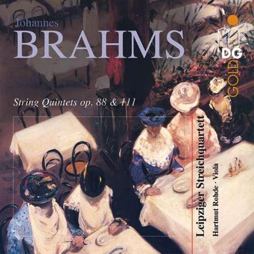 CD Brahms String Quintets