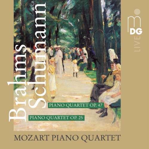Brahms / Schumann, 2011, Mozart Piano Quartet