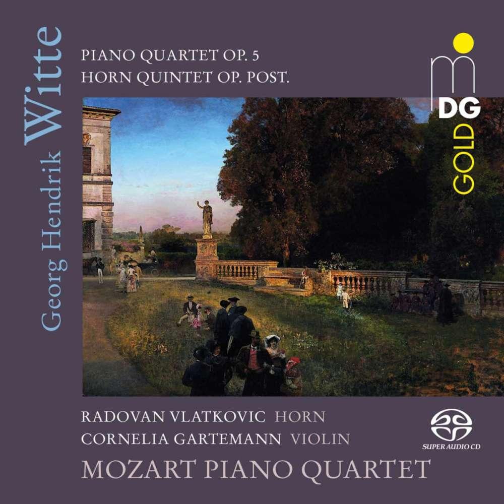 CD Mozart Piano Quartet - Georg Hendrik Witte